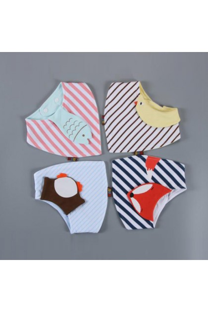 BB963 Heepte Baby Cotton Bib