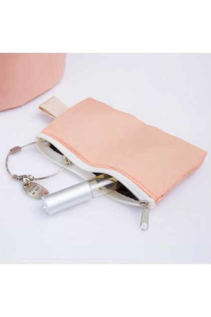 TR013 Travel Cosmetic Toiletries Waterproof Cylinder Storage Bag
