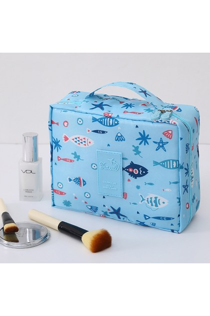 TR020 Multifunction Ladies Square Cosmetic Pouch Travel Bag