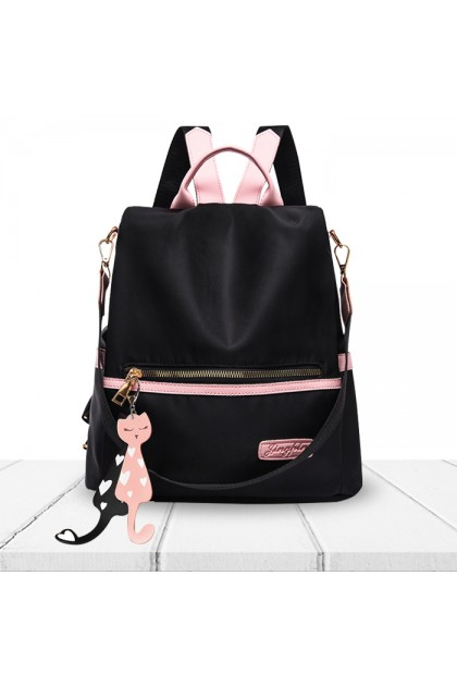 CS185 Korean Fashion Oxford Cloth Waterproof Multifunction Shoulder Backpack