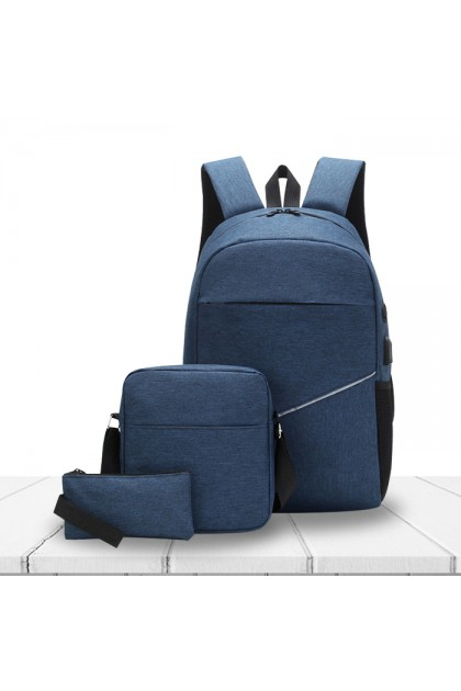 SK538 Casual Outdoor Travel Laptop Multi function 3 In 1 Backpack Set