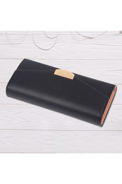 WLF075 Forever Young Simple Elegant Ladies Long Wallet