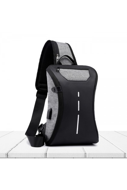 SK543 Multi Function Large Capacity Business Leisure Travel Messenger Chest Bag